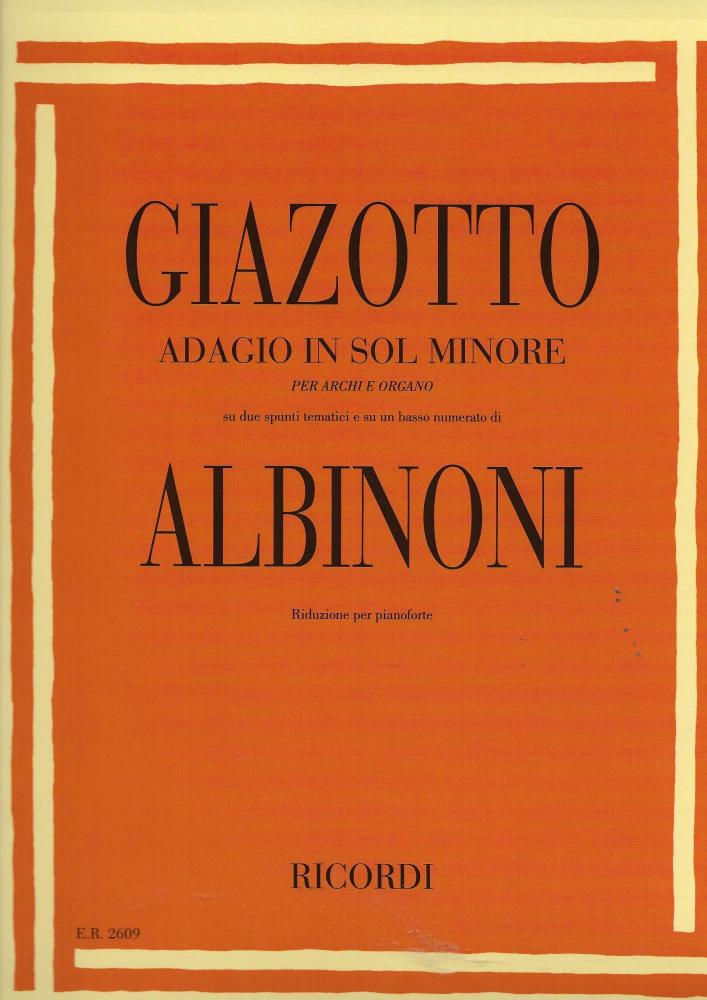 Adagio in sol minore (g minor)