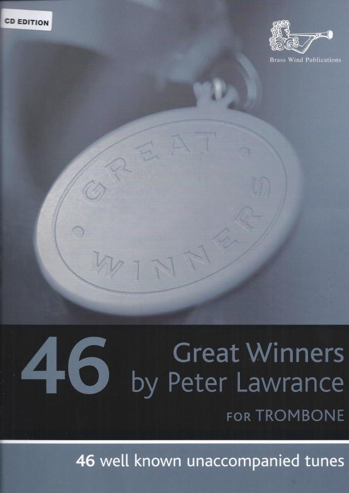 Peter Lawrance: Great Winners For Bass Clef Trombone (Book and CD)