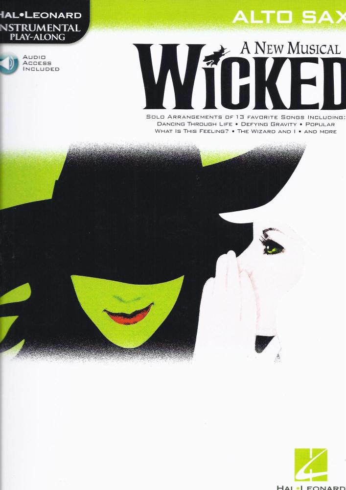 Hal Leonard Instrumental Play-Along: Wicked (Alto Saxophone)
