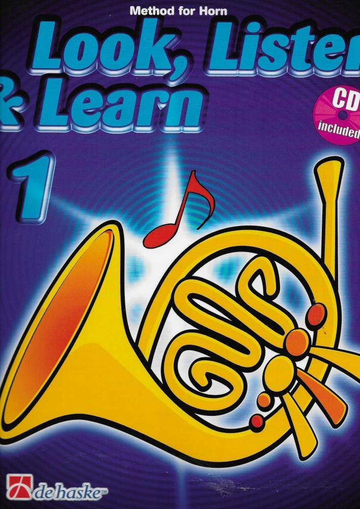 Look, Listen & Learn 1 Horn