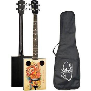 Cigar Box Electric Guitar inc Gig Bag