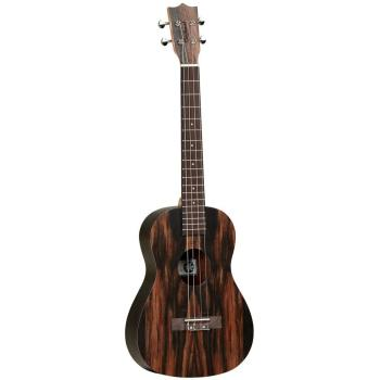 Tanglewood Tiare Series Baritone Ukulele - Fig Ebony Tip Back & Sides + Bag