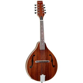 Tanglewood All Mahogany Teardrop F Hole Mandolin