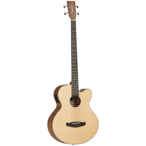 Tanglewood Acoustic Bass Cutaway Spruce Top, Black Walnut Back and Sides Sa