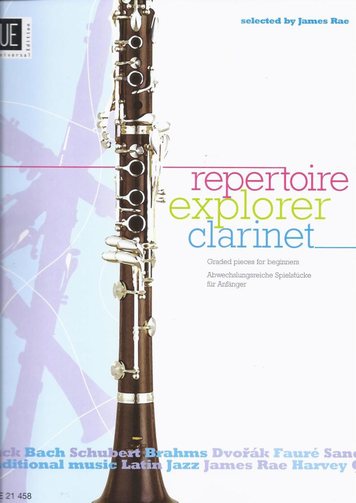 Repertoire Explorer - Clarinet