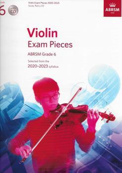 ABRSM Violin Exam Pieces Grade 6 2020-2023