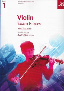 ABRSM Violin Exam Pieces Grade 1 2020-2023