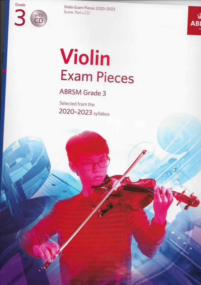 ABRSM Violin Exam Pieces Grade 3 2020-2023