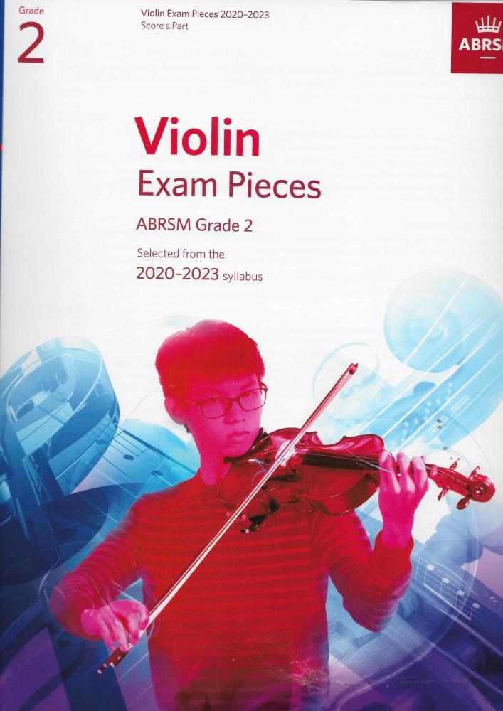 ABRSM Violin Exam Pieces Grade 2 2020-2023