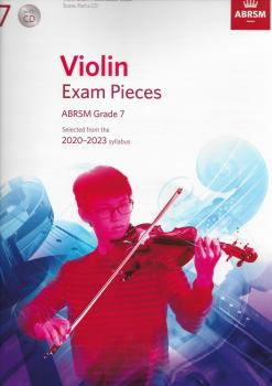 ABRSM Violin Exam Pieces Grade 7 2020-2023