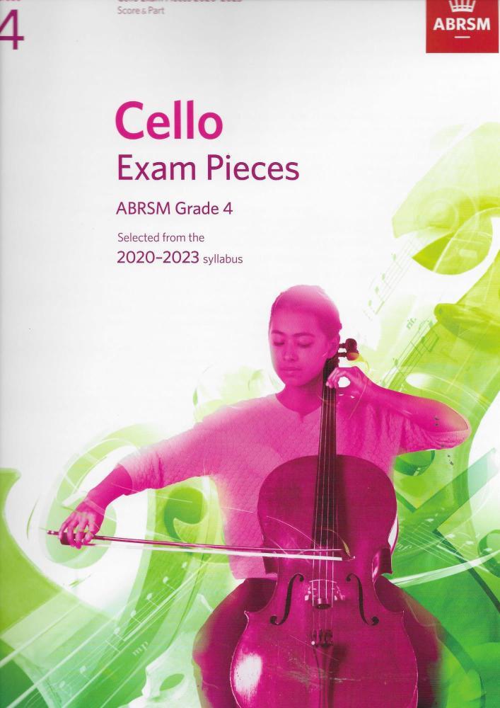 ABRSM Cello Exam Pieces Grade 4 2020-2023