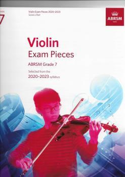 ABRSM Violin Exam Pieces Grade 7 2020-2023