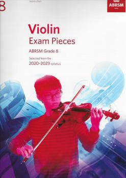 ABRSM Violin Exam Pieces Grade 8 2020-2023