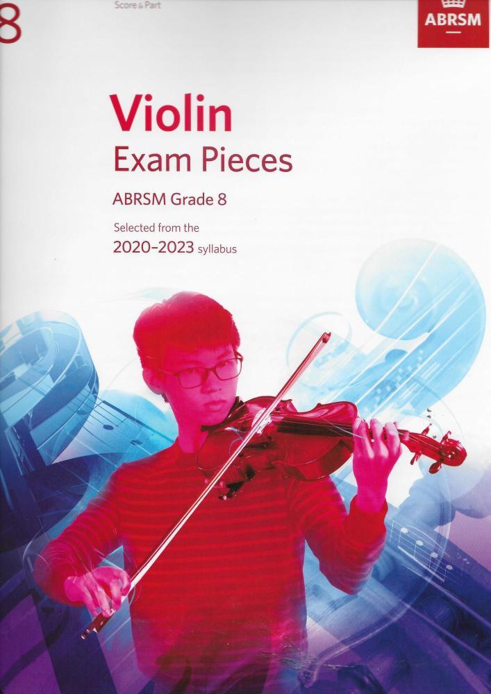 ABRSM Violin Exam Pieces Grade 8 2020-2023