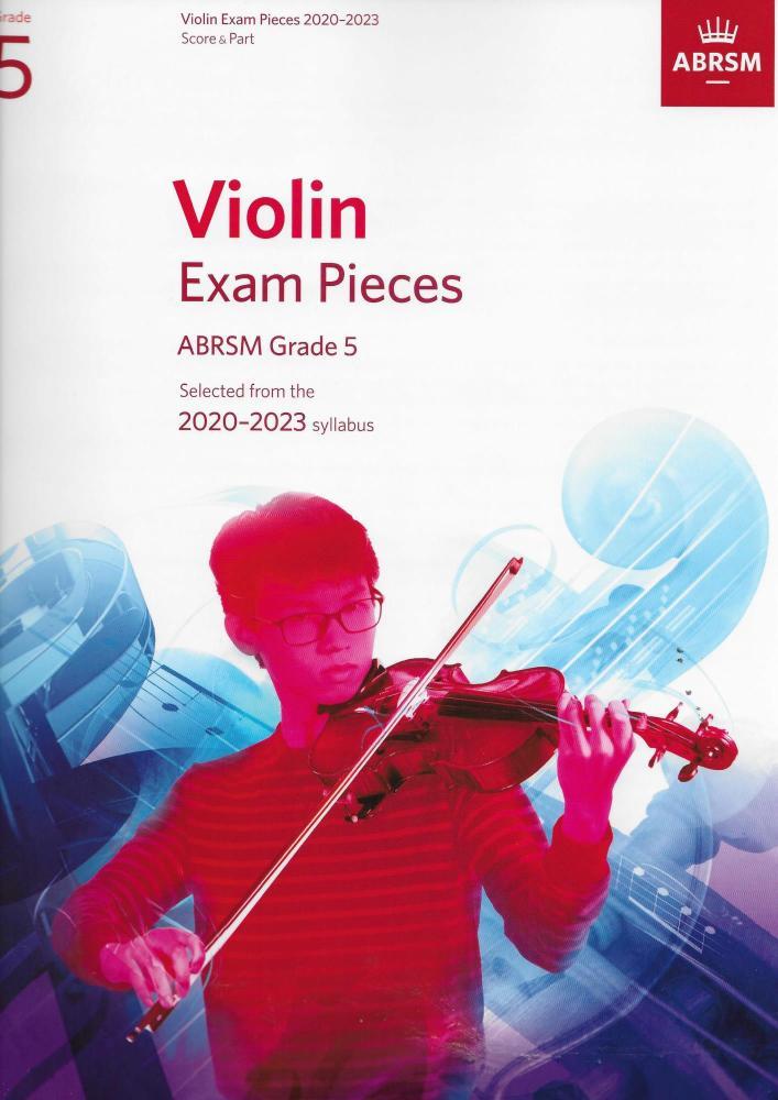 ABRSM Violin Exam Pieces Grade 5 2020-2023