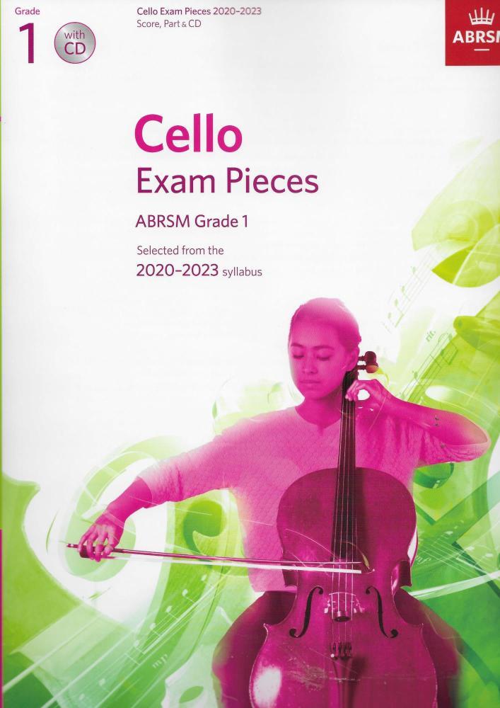 ABRSM Cello Exam Pieces Grade 1 2020-2023