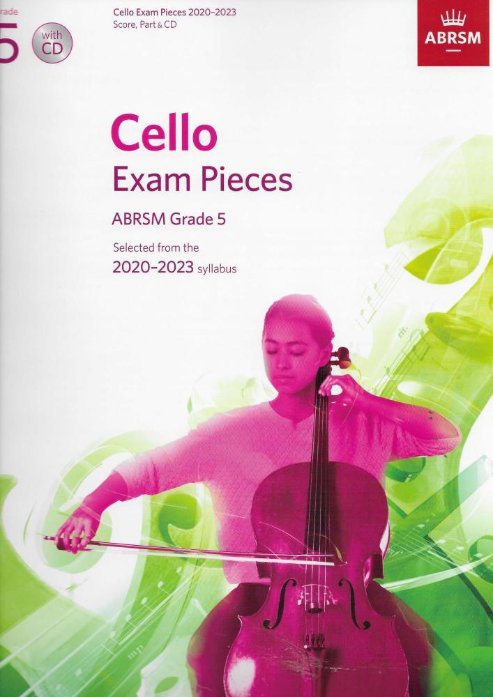 ABRSM Cello Exam Pieces Grade 5 2020-2023