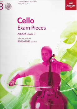 ABRSM Cello Exam Pieces Grade 3 2020-2023