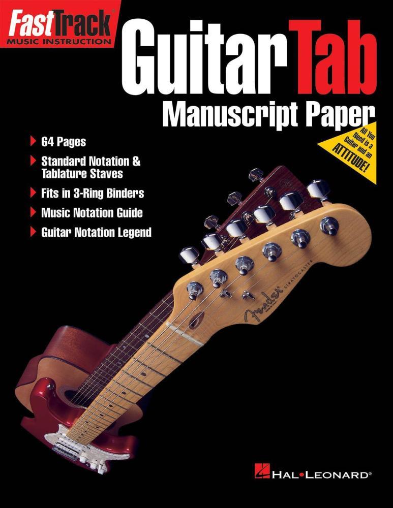 FastTrack - Guitar Tab Manuscript Paper