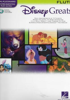 DISNEY GREATS FLUTE FLT BOOK/CD