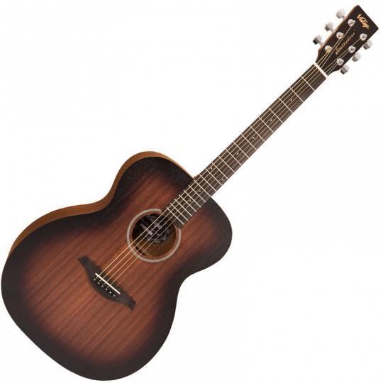 Vintage Statesboro' Series Acoustic Guitar - Whisky Sour