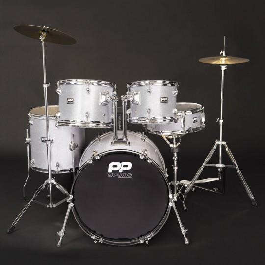 5PC Fusion Drum Kit - Silver