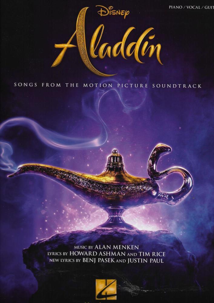Aladdin - Piano, Vocal & Guitar