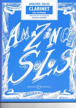 HOWARD HARRISON: AMAZING SOLOS (CLARINET/PIANO) CLT BOOK