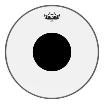 """Remo Controlled Sound 14"""" Clear Black Dot Drumhead"""