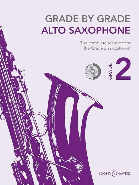 Grade by Grade - Alto Saxophone