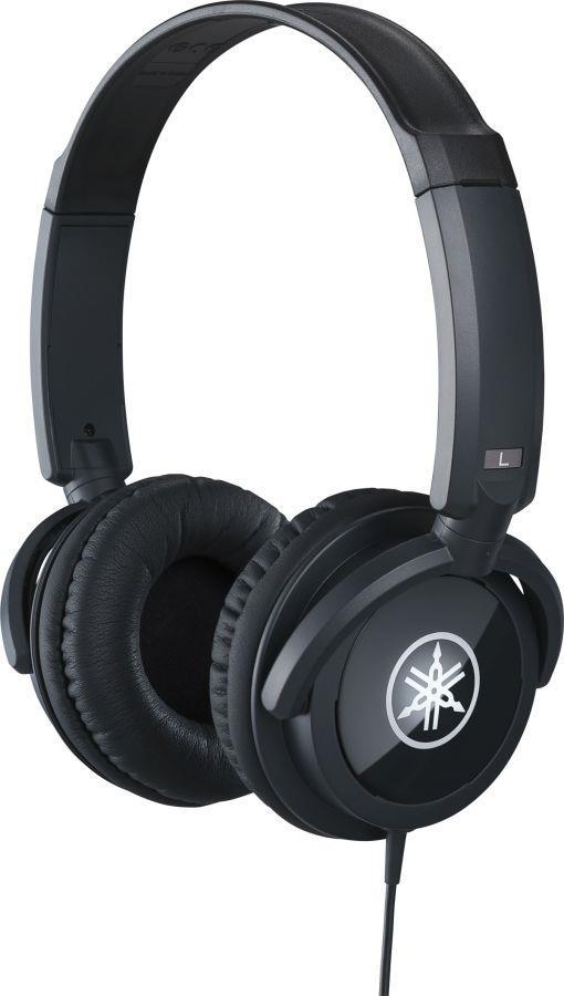 Yamaha HPH-100 Headphones in Black Finish