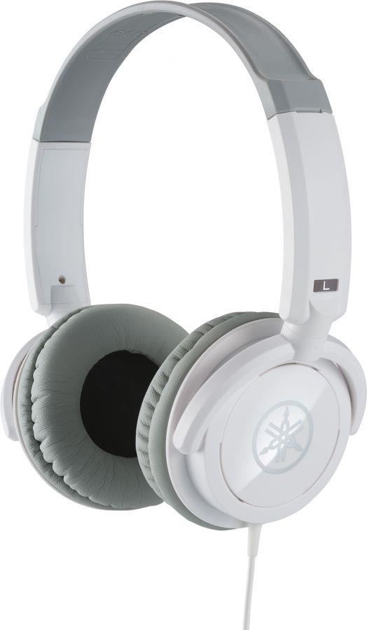 Yamaha HPH-100 Headphones in White Finish