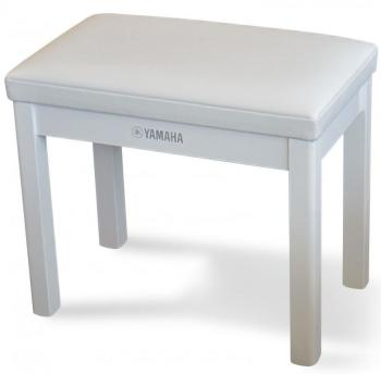Yamaha GTB Digital Piano Stool in Polished White