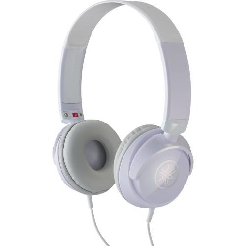 Yamaha HPH-50 Headphones in White Finish