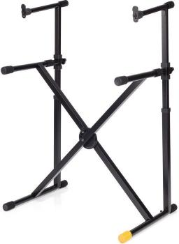 Hercules 2 Tier X Type Keyboard Stand