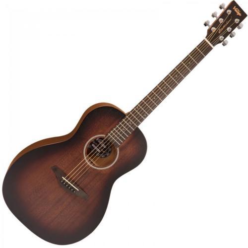 Vintage Statesboro' Series Parlour Guitar - Whisky Sour