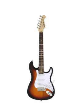 Aria STG Mini Electric Guitar, Sunburst
