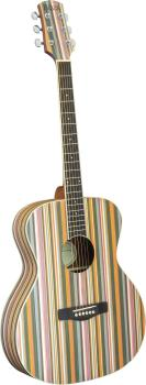 Adam Black Acoustic Guitar - Rainbow
