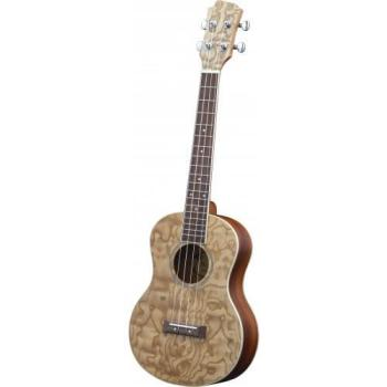 Adam Black Tenor Ukulele - Quilted Ash