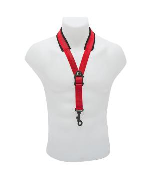 BG Comfort Neck Strap Snap Hook Red