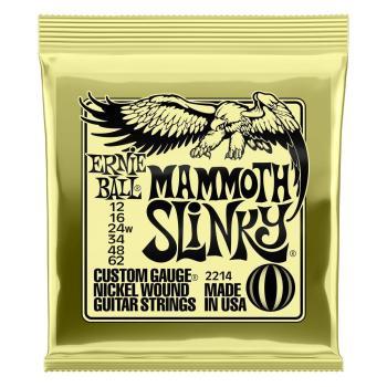 Ernie Ball Guitar Strings Mammoth Slinky Set 12-62 (wound G)