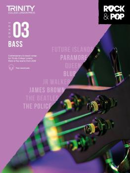 Trinity Rock and Pop 2018 -20 Bass Grade 3