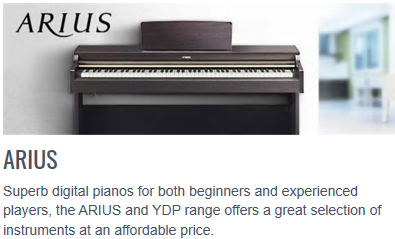 Arius YDP Digital Pianos