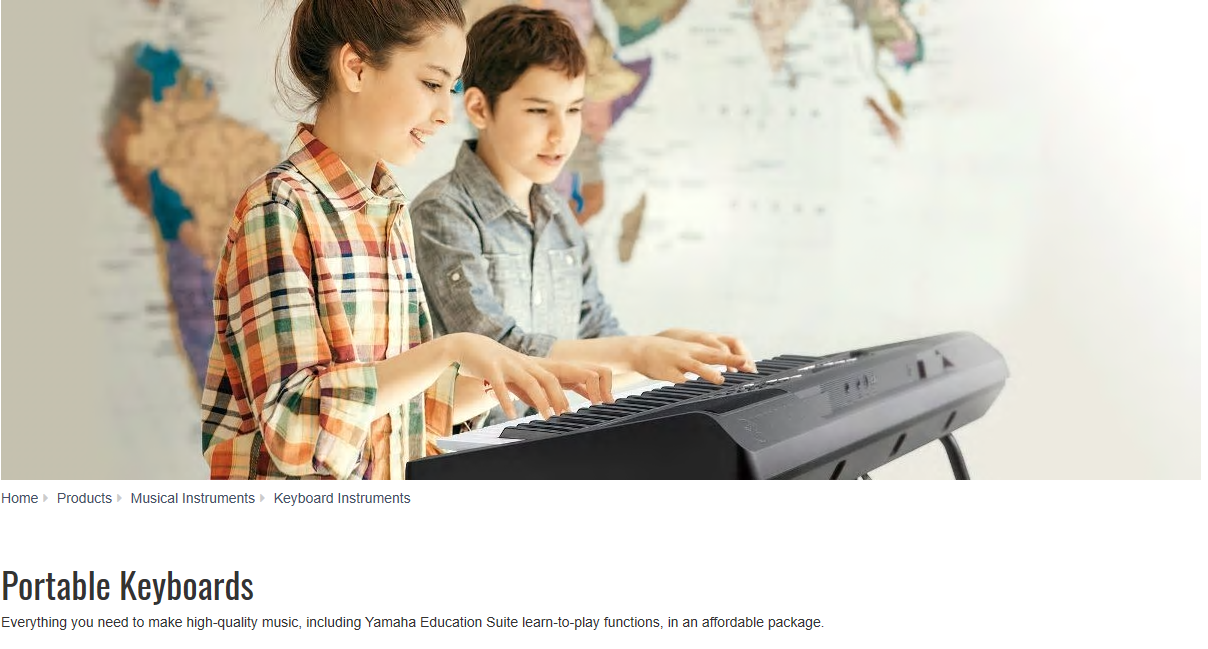 portable keyboard header