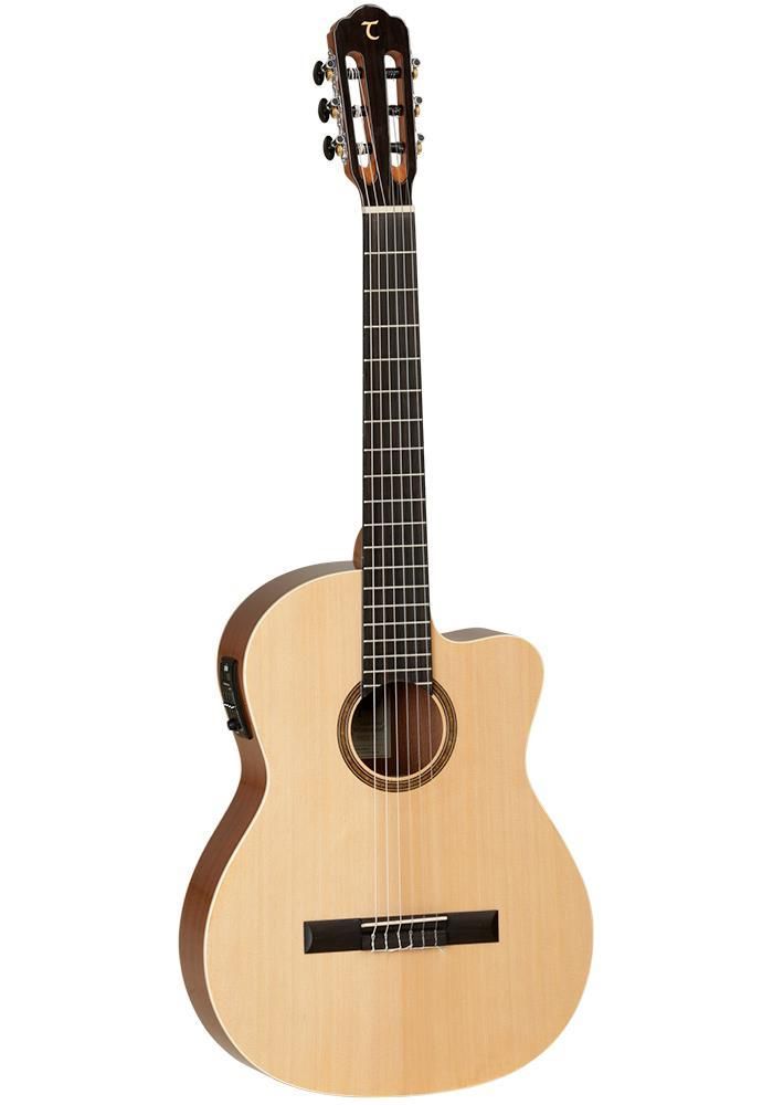 Tanglewood Classical Cut Spruce Top Mahogany Back & Sides, Delux high Gloss