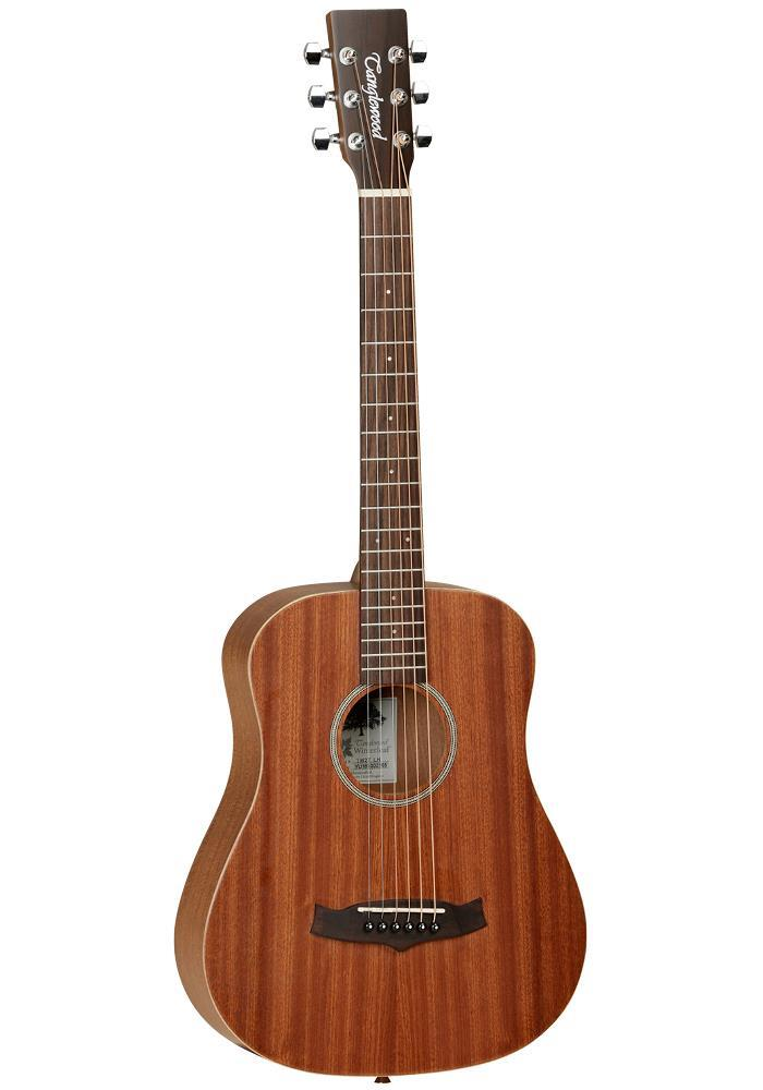Tanglewood Travel Size Orchestra Mahogany Top with Bag Left Handed