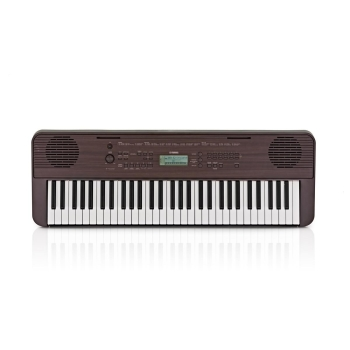 Yamaha PSR-E360 Digital Keyboard - Dark Walnut
