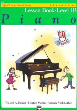 Alfred's Basic Piano Library: Lesson Book Level 1B (Book/CD)