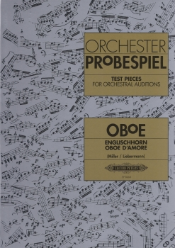 Orchester Probespiel Test Pieces for Oboe