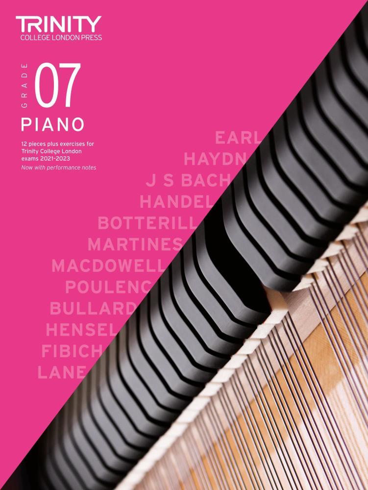 Piano Exam Pieces & Exercises 2021-2023: Grade 7